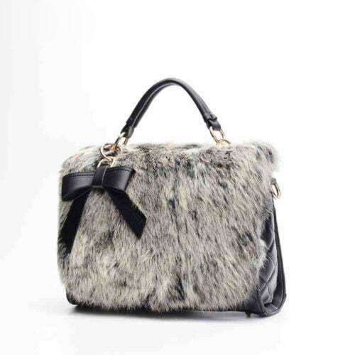 UN18008 500x500 - Small MOQ black PU leather embroidery women satchel handbags