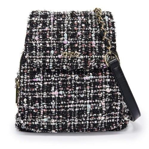 Simple European designer fabric leather good quality backpacks
