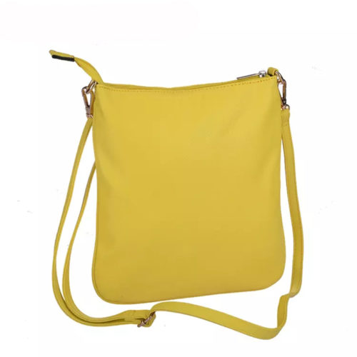 UN19008 yellow 500x500 - China manufacturer high quality green leather ladies crossbody bag