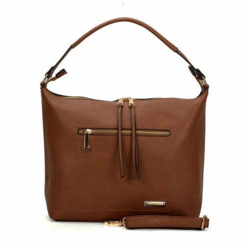 Copy name brand human leather hobo handbags for women
