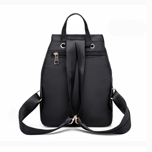 UN19014 13 500x500 - Professional manufacturer high quality nylon black backpacks for high school