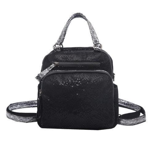UN19018 500x500 - Useful design glitter PU women backpack handbags