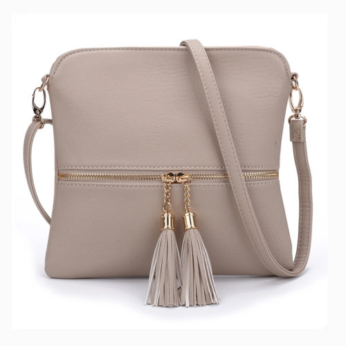 UN19020 500x500 - European design best selling girls over the shoulder bag with tassels