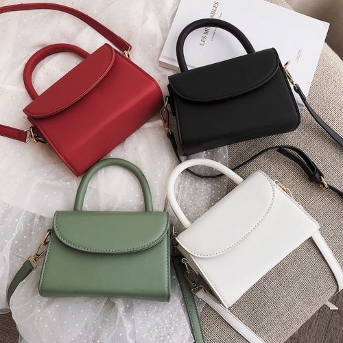 Small MOQ custom made human leather all bags online