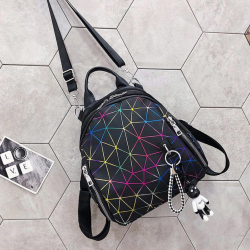 Korean design fashion girls cool small backpacks