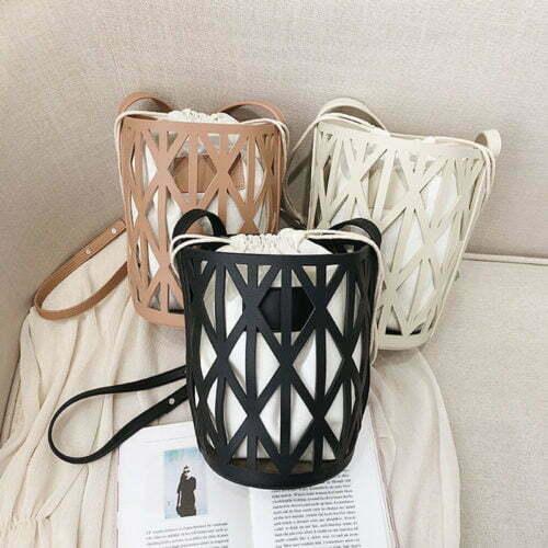 Top selling bag in bag design charles and keith bucket bag