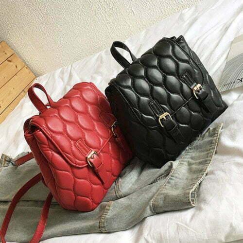 UN19065 500x500 - Fashion European style embroidery ladies backpacks