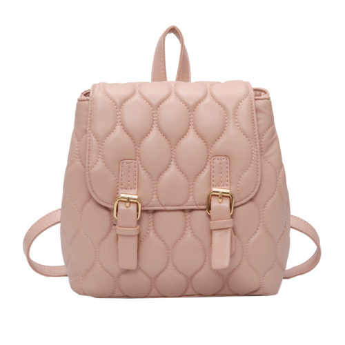 UN19065 pink 500x500 - Fashion European style embroidery ladies backpacks