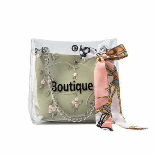 Top selling summer style transparent PVC chain shoulder bag