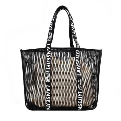 UN19094 500x500 - Wholesale lightweight net design women handbags totes