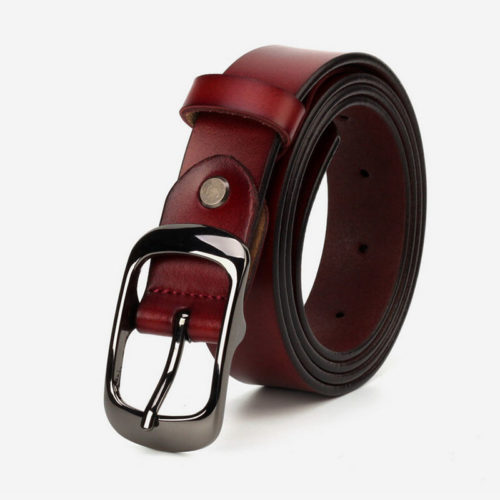 Excellent design real cow leather all belts