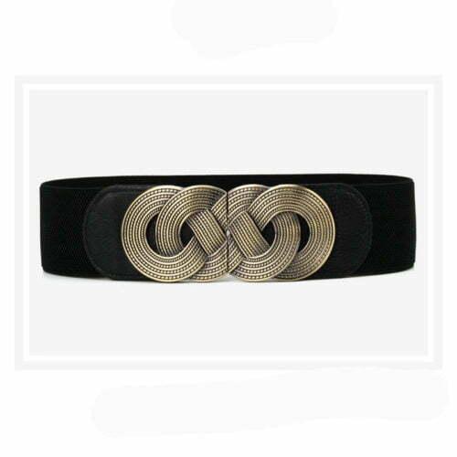 Retro style small MOQ fashion women elastic belt