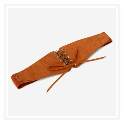 Popular style elastic fabric office ladies belts