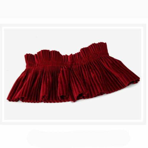 Nice velvet style college girls elastic belts