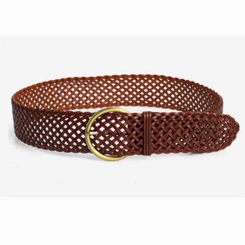 Small MOQ human leather accessories shop belts online