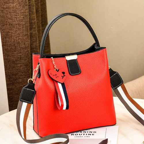UN19106 red 500x500 - Guangzhou manufacturer office ladies work tote bag