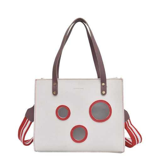 UN19110 500x500 - Simple style PVC leather casual handbags online