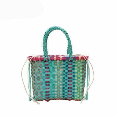 UN19113 500x500 - 2020 hot selling handmade woven colorful handbags