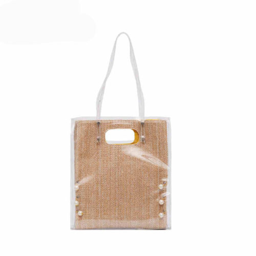 Professional factory good price woman beige handbags