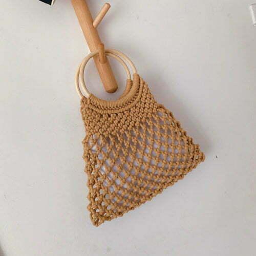 2020 summer style brand designer women woven handbags