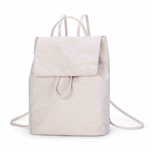 UN19124 500x500 - Cheap design simple school girls canvas backpack
