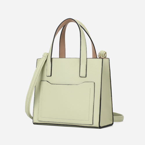 2020 new style brown PU leather summer tote bags
