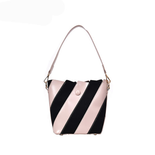 Fast delivery OEM brand black and white designer bag
