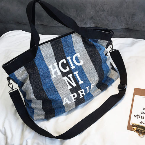 China factory good canvas brand name bags on sale