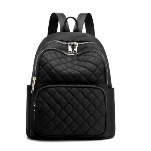 UN19142 500x500 - New fashion female style embroidery nylon backpacks