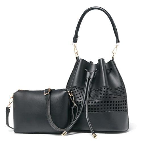 UN19143 BLACK 500x500 - Popular in UK summer style ladies green handbags