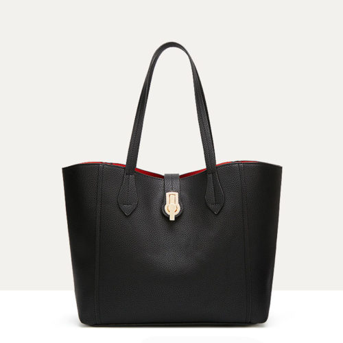 UN19144 BLACK 500x500 - 2020 new coming PU leather women simple handbags