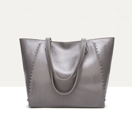 UN19150 GREY 500x500 - Discount selling name brand style eco PU handbags