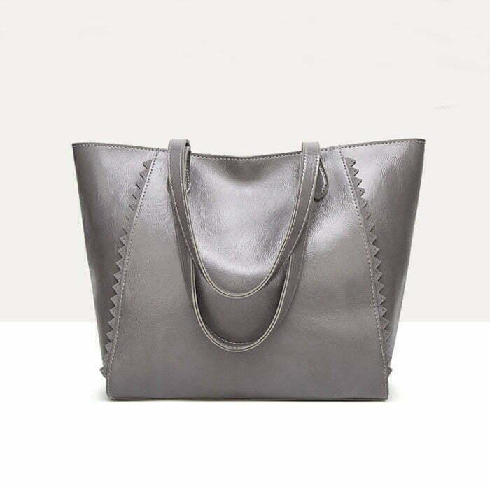 UN19150 GREY 700x700 - Discount selling name brand style eco PU handbags