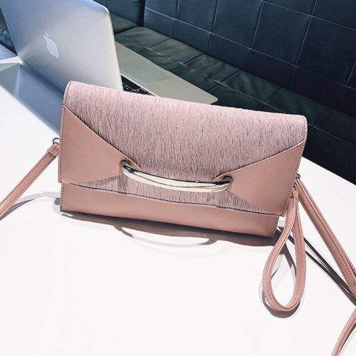 UN19153 500x500 - Small MOQ PU leather ladies envelope clutch bag