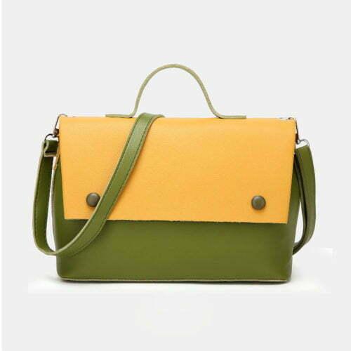 UN19160 YELLOW 500x500 - Factory wholesale fashion style ladies handbags