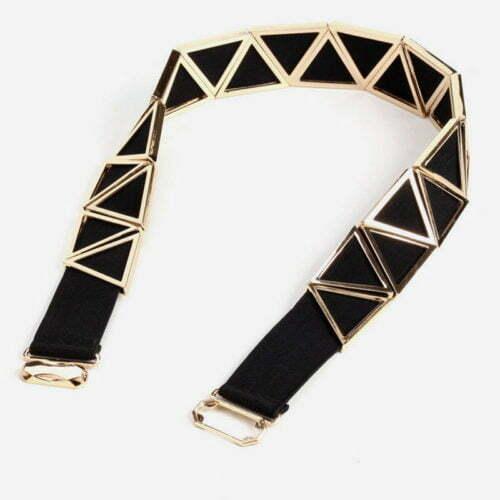 QYBD025 500x500 - Discount selling online girls fashion elastic alloy belts