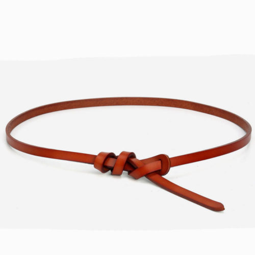 Big discount selling cow leather belts for gilrs