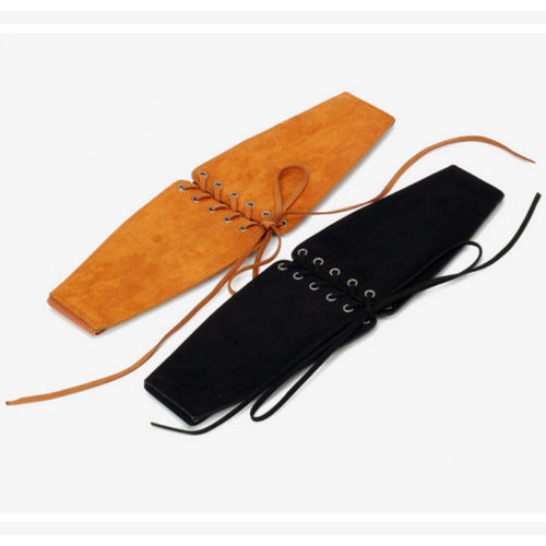 Good price human leather elastic stylish belt online