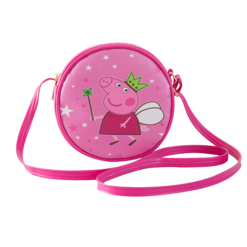 Wholesale printed round shape small designer bags