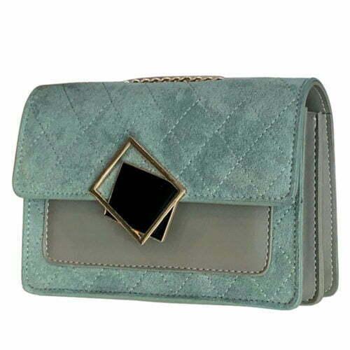 UN19171 500x500 - Winter design velvet leather women small cross over bag