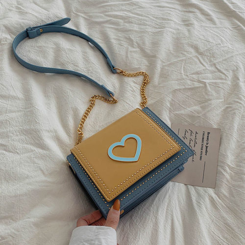 Free sample PU leather small designer shoulder bags