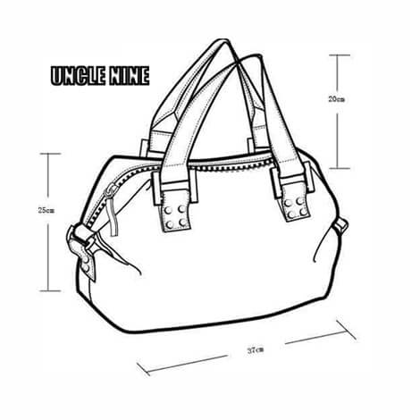 Uncle Nine Leather can help clients to custom design nice women fashion bags