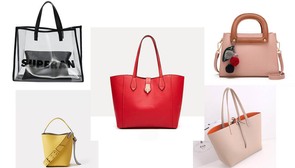 new women handbags, tote bags, hobo bags made by Uncle Nine Leather, in China