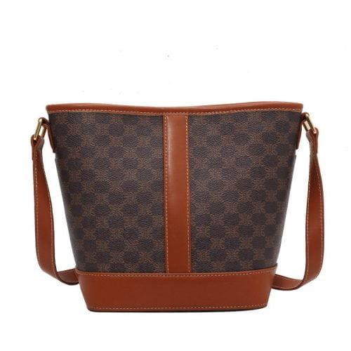 Printed Fashion Patchwork Small Shoulder Bag