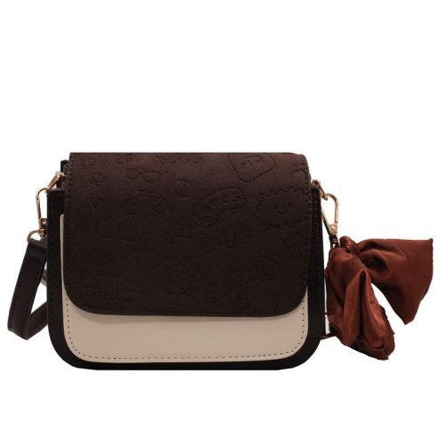Patchwork PU Leather Best Crossbody Bags For Moms