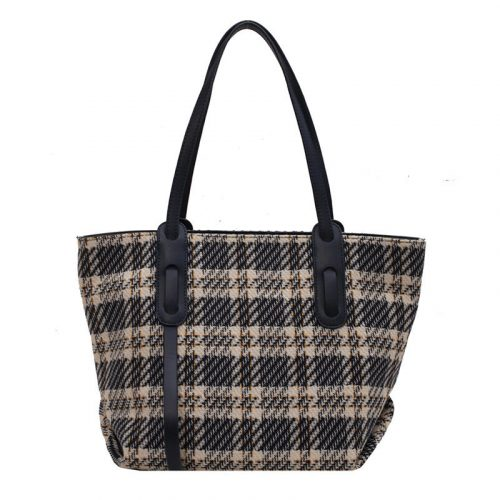 2022 Winter Large Capacity Fabric Tote Bag